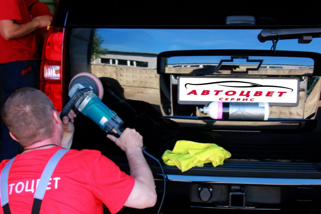 Кузовной ремонт и покраска в автосервисе Автоцвет