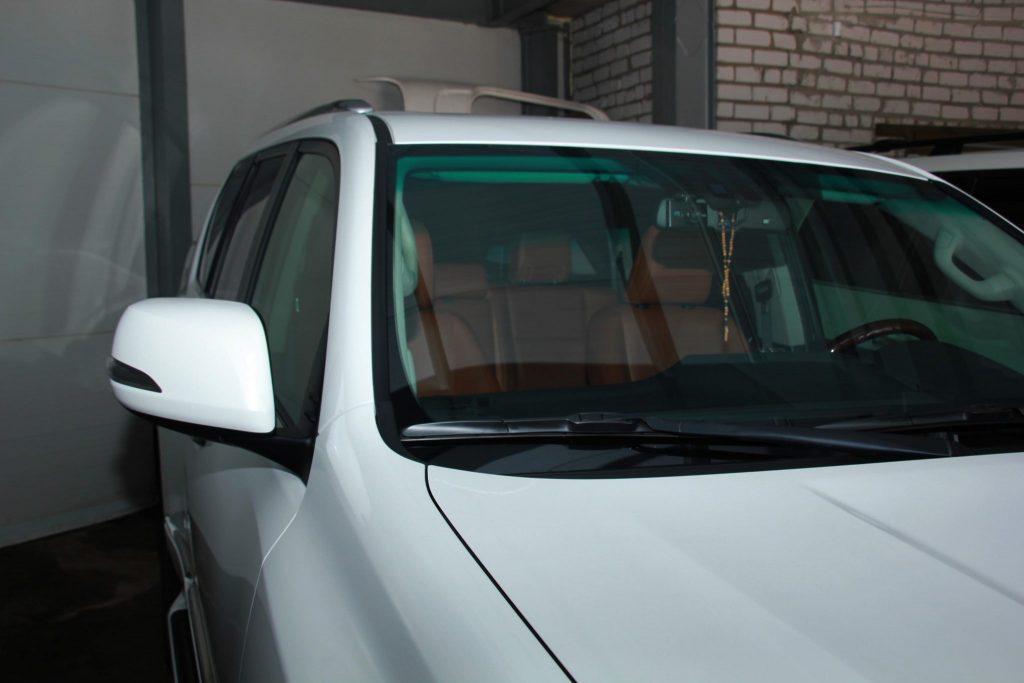 Установка датчика дождя на Lexus GX 460