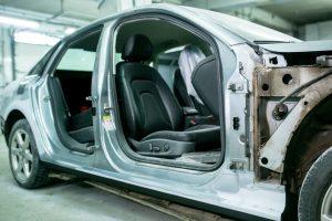 Правый порог - ремонт и окраска в Автоцвет