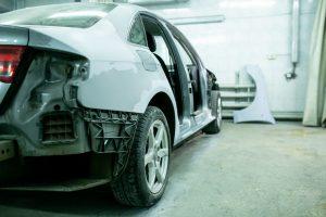 Переднее правое крыло - ремонт и окраска в Автоцвет