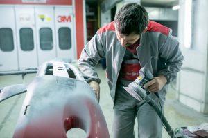 Покраска и ремонт автомобиля в Автоцвет