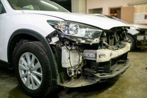 Передний бампер - ремонт и окраска в Автоцвет